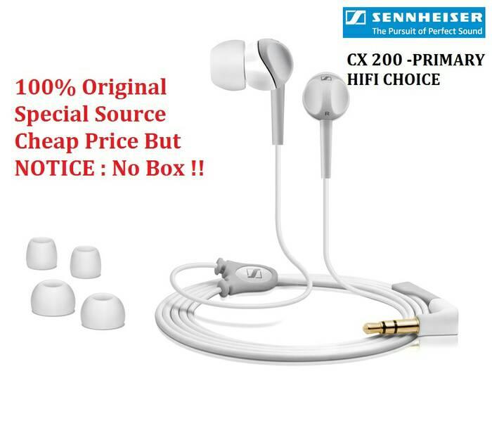 Jual Headset Sennheiser Cx200 Original