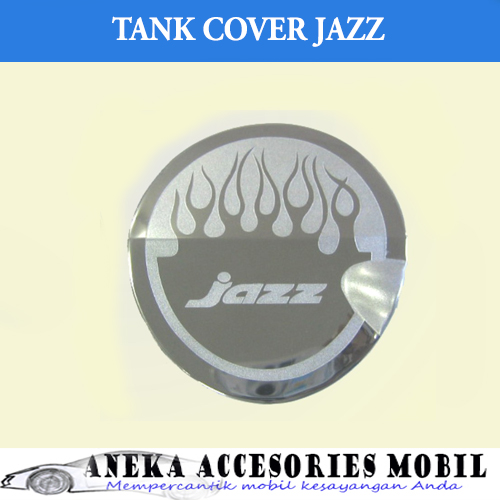 Garnish Tutup Bensin/Tank Cover Garnish Mobil Honda Jazz Model Grafir