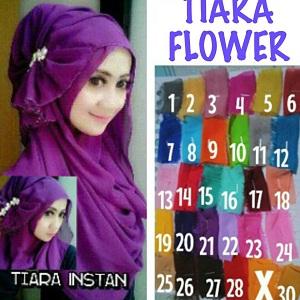 Jilbab Pashmina Instan Pastan Tiara Instant Pashmina Hijab Kode 1c00a1