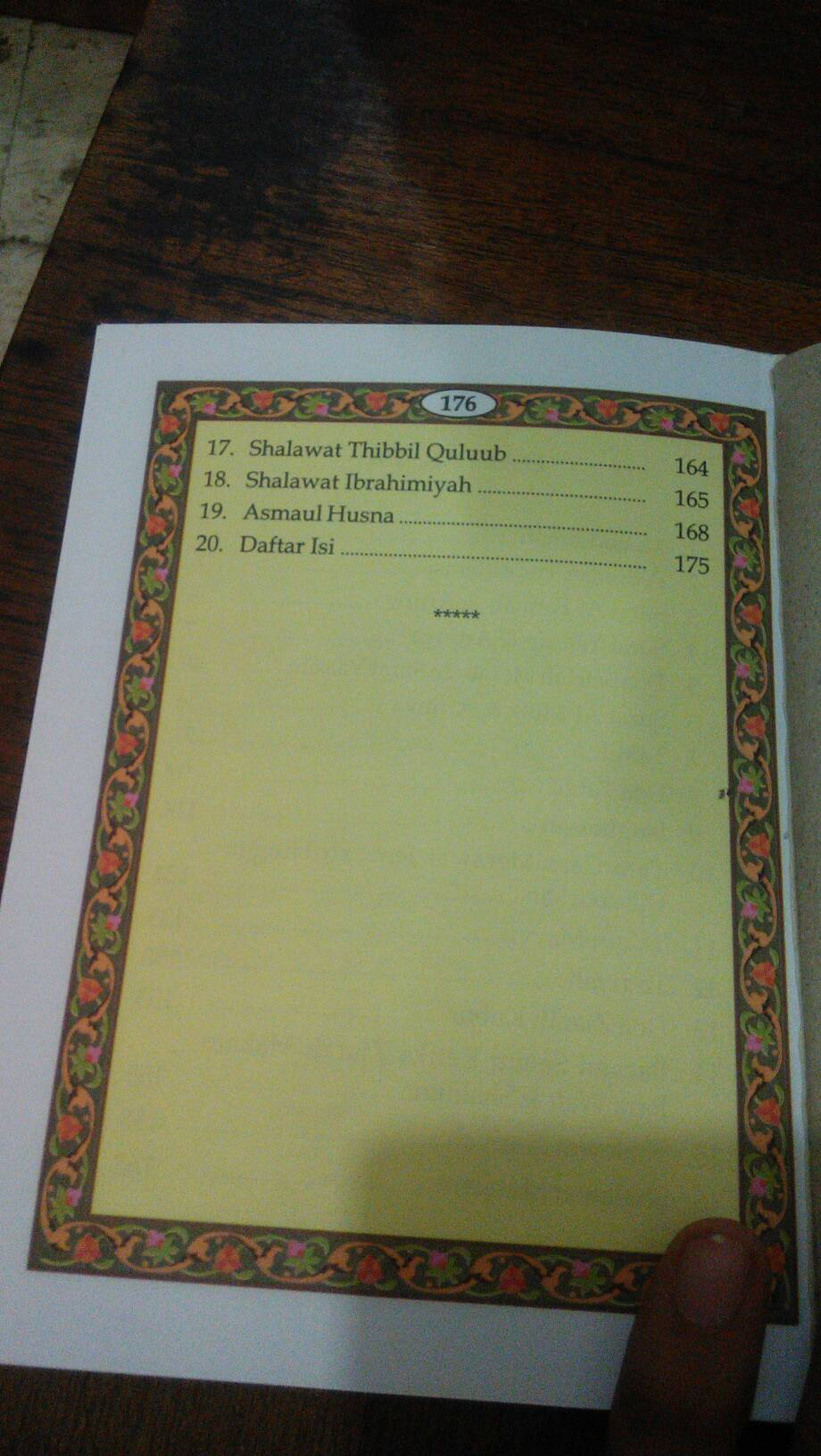 Yasin Tanpa Cover 176 Hal