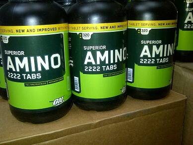 Suplemen Fitnes Amino 2222 ON superior 320tablet Malang