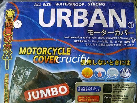 Harga COVER / SELIMUT / PELINDUNG MOTOR URBAN JUMBO ANTI AIR DAN PANAS