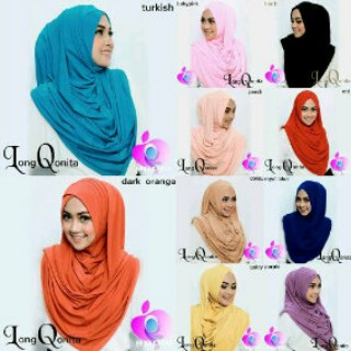 Hijab/Jilbab Instant Long Qonita