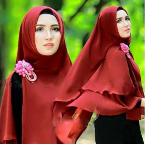 Jilbab / Hijab Syar'i cantik 205