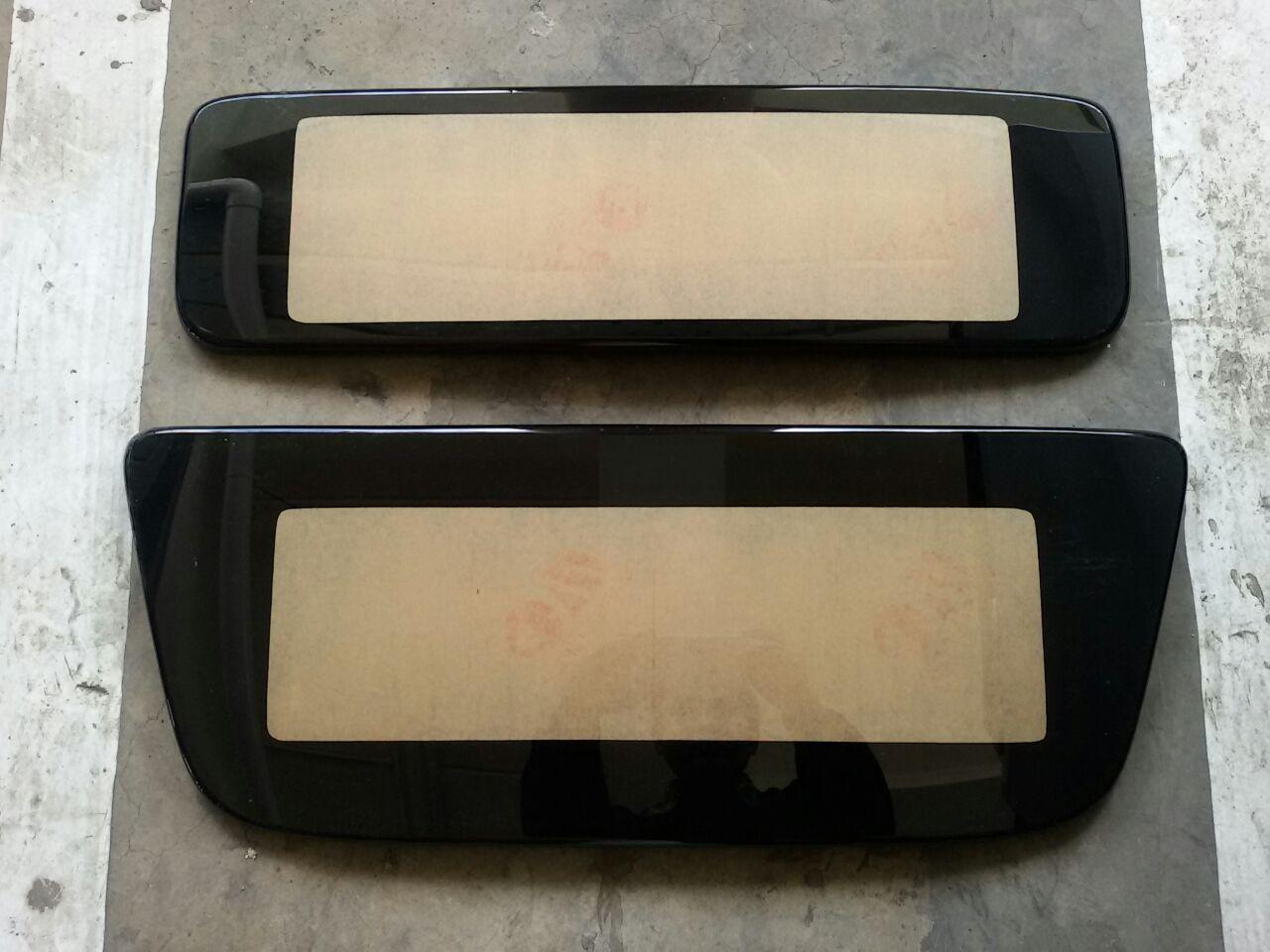 Cover pelat nomor acrylic cembung mobil HONDA JAZZ RS