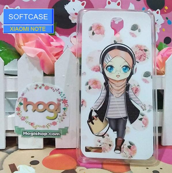 Xiaomi Red Mi Note - Softcase Custom Case Hijab
