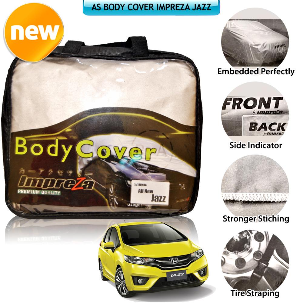 Body Cover Mobil Honda Jazz Merk Impreza