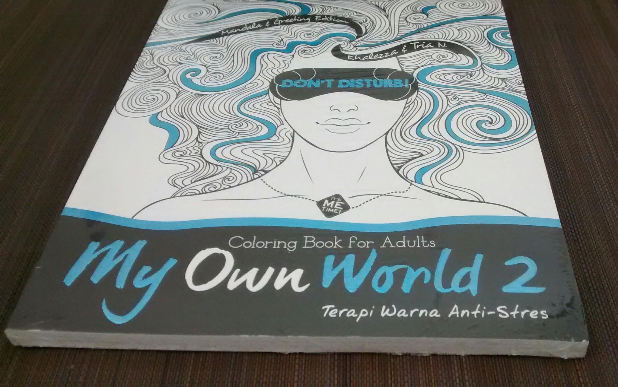 Jual Terapi Warna Antistress Paket Coloring Book For