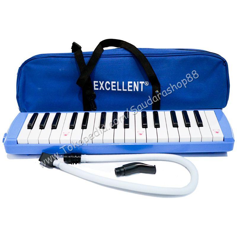 Pianika / Pianika Murah / Pianika Excellent Biru