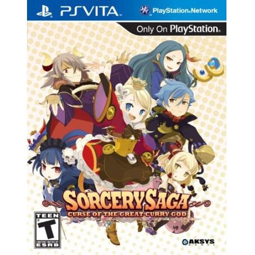 [Sony PS Vita] Sorcery Saga The Curse of the Great Curry God