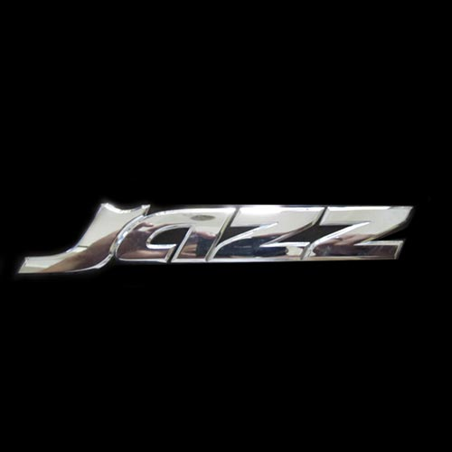 Emblem Honda Jazz Chrome