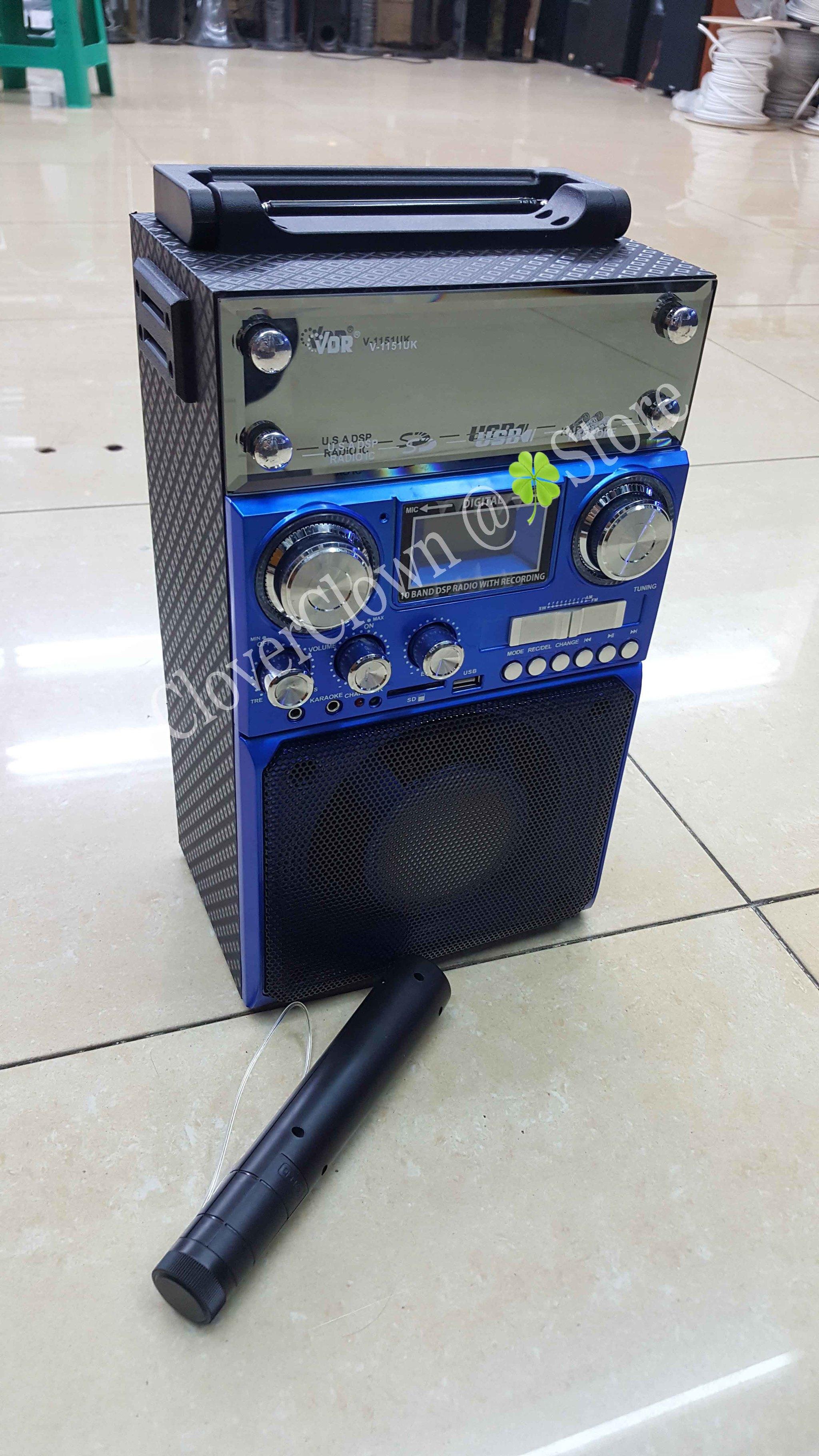 Jual Portable Wireless Meeting Amplifier VDR V1151UK