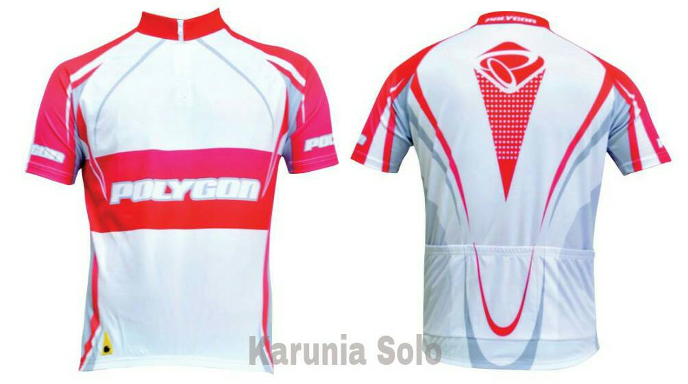 "Jersey Sepeda ""Polygon"""