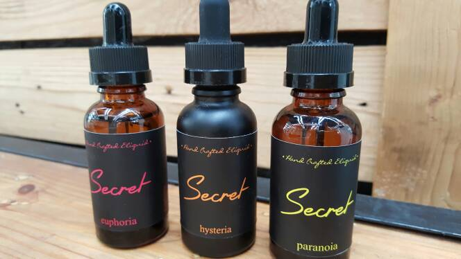 SECRET Premium Nation E-Liquid