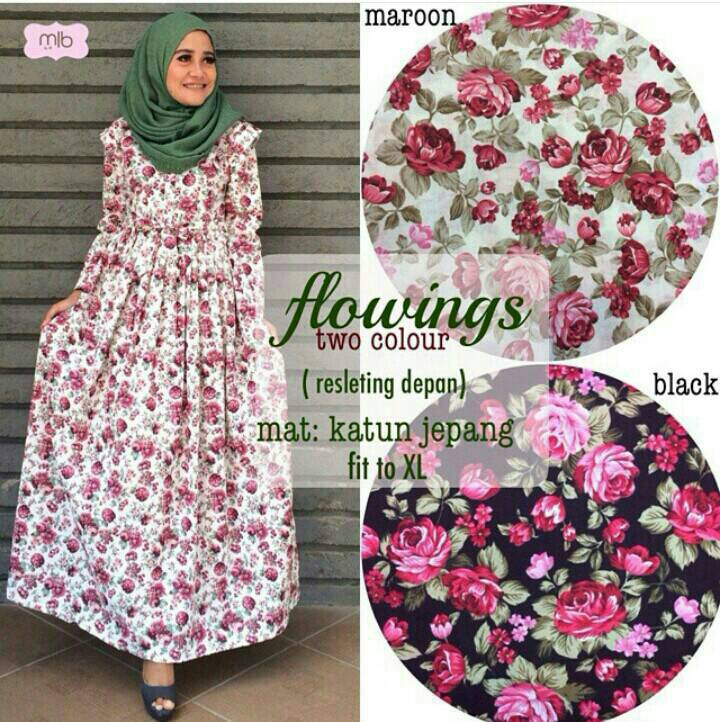 GRANDE HIJAB SOLO: FLOWING DRESS MLB