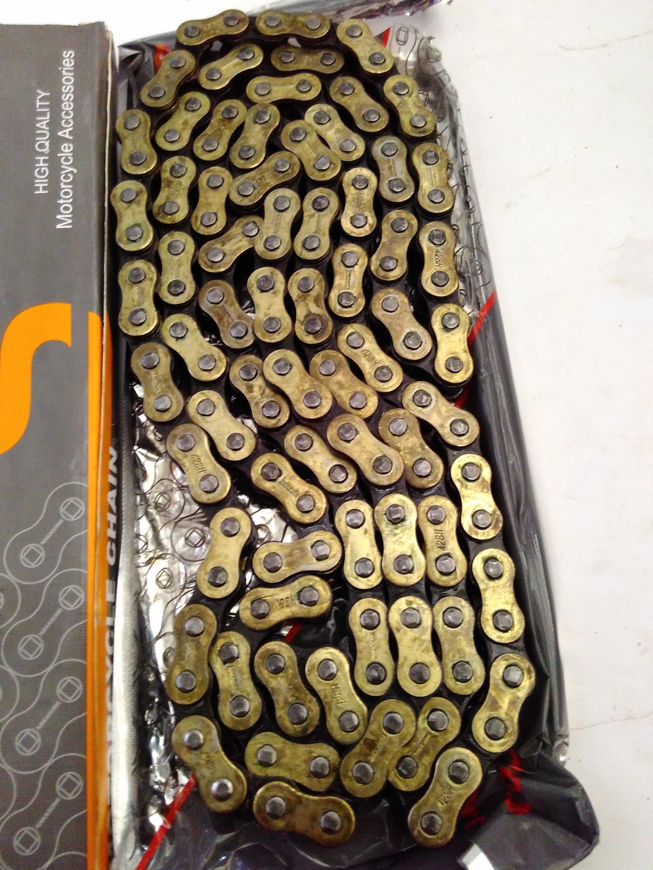 RANTAI GOLD 428H-140 KLX 150, TS, MODIF TRAIL CROSS SUPERMOTO NAKASONE