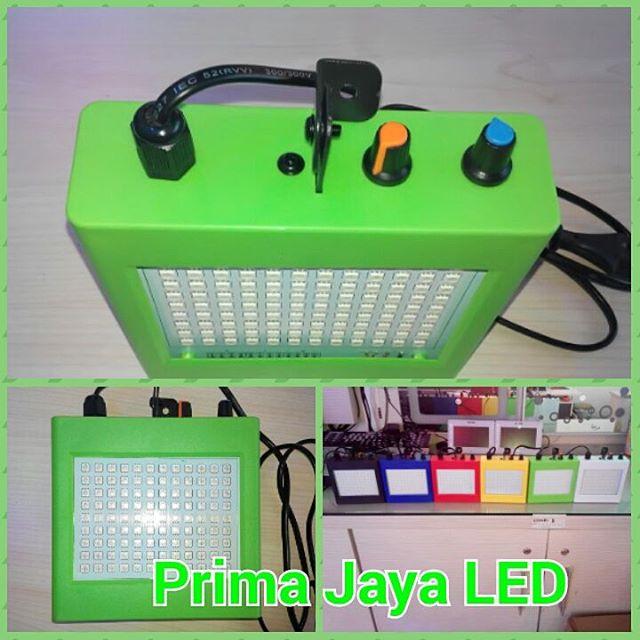 Strowbo LED RGB Kotak Hijau