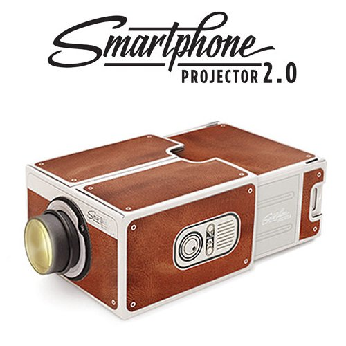 how to make a cardboard phone projector