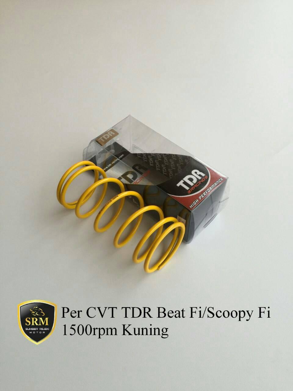 Per CVT TDR Beat Fi/Scoopy Fi 1500rpm Kuning