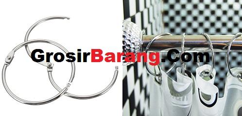 Ring Kait Gantungan Hijab / Jilbab Kartu Korden Card Curtain