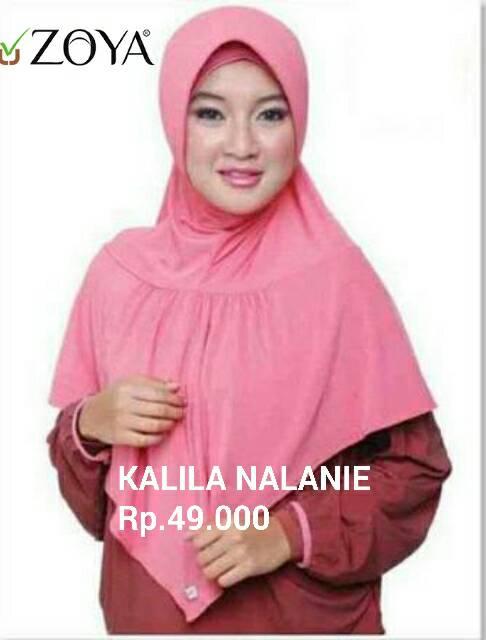 Kalila Nalanie Bergo Zoya Hijab / DISC 10% Min 2pcs