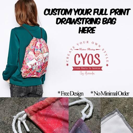 Jual Custom Full Print Drawstring Bag - Etcetera_101OnlineStore ...