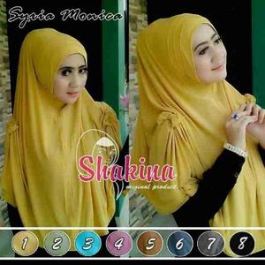 Jilbab Syar'i Syria Monica /  Kerudung Besar Shakina Monica Hijab