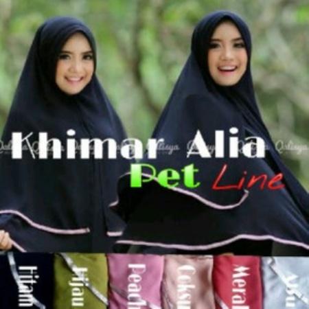 Hijab | Jilbab | Kerudung khimar ALIA pet Line