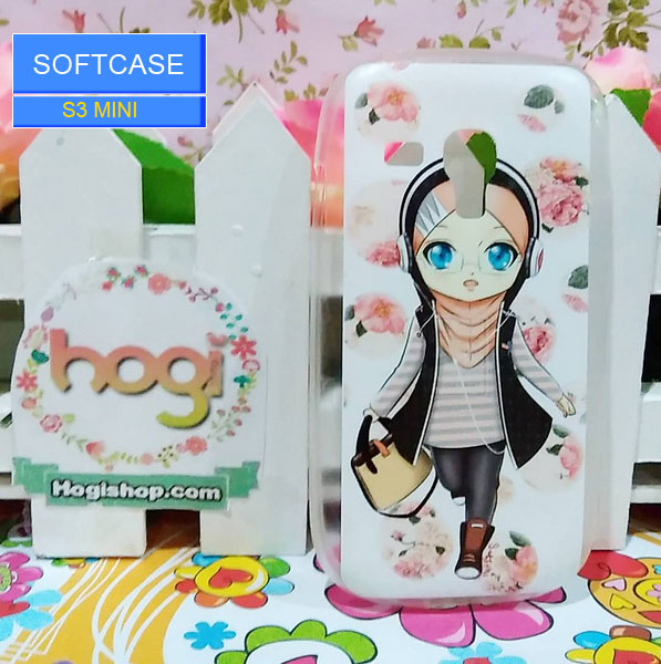 Samsung S3 Mini - Softcase Custom Case Hijab Chibi