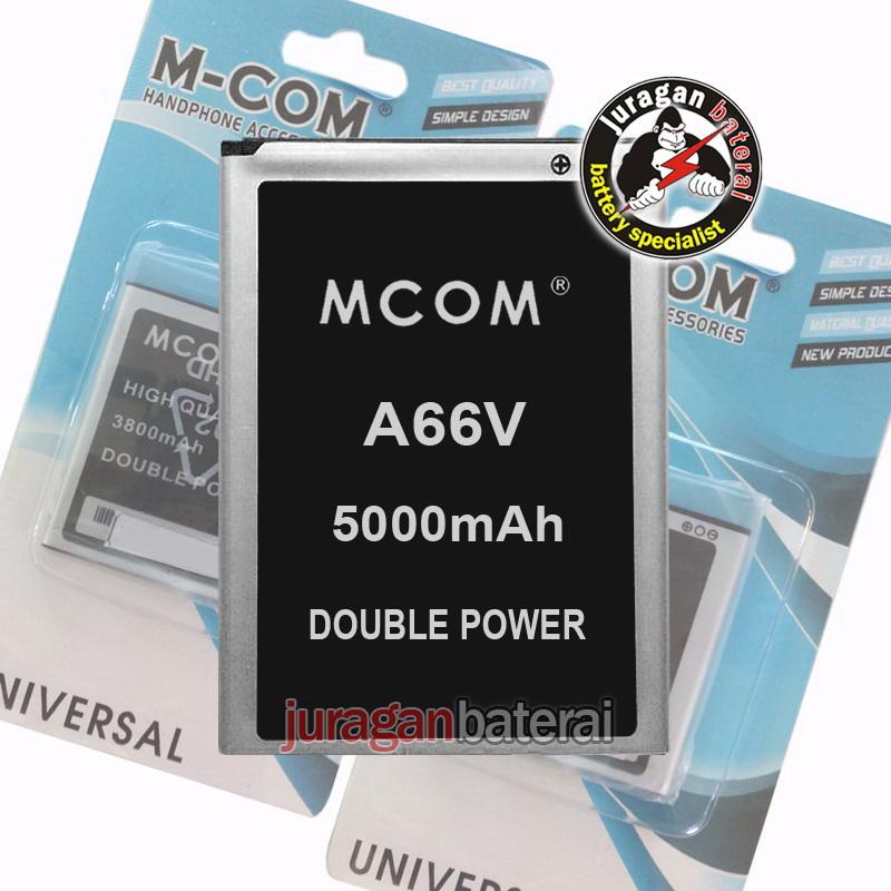 Jual Baterai Battery MCOM EVERCOSS A66V 5000mAh Double Power Juragan baterai