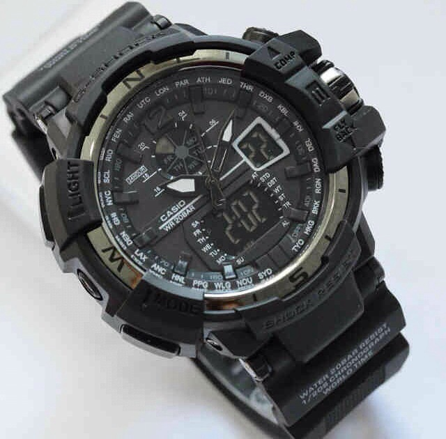 G-Shock Gshock GWA-1100 Full Black