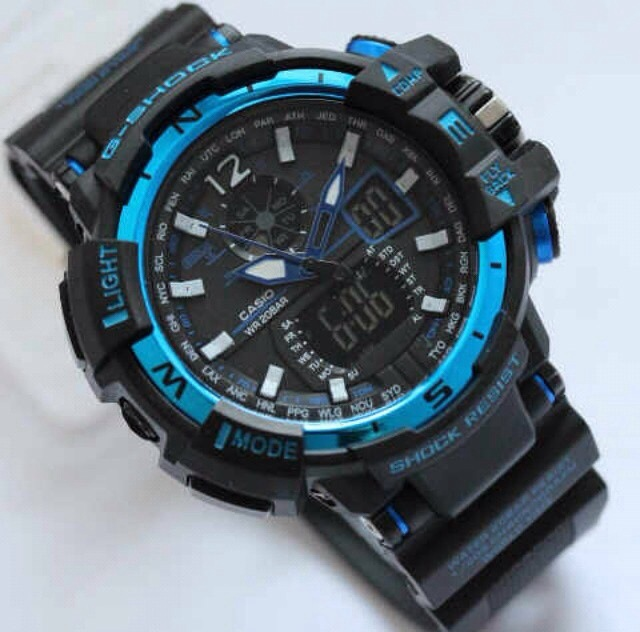 G-Shock Gshock GWA-1100 Black List Blue