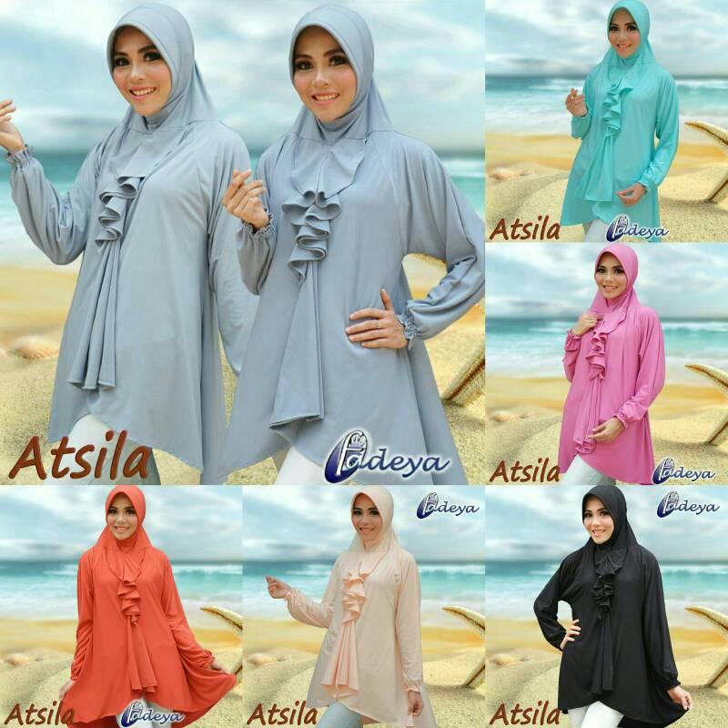 hijab lengan atsila ori by fadeya