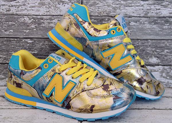 574 womens sneakers shoes  jual sepatu runningcasual new balance 574 women  biru kuning murah upinipinstore tokopedia 8e54b8224f