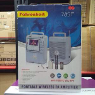 harga Portable Toa Amplifier Meeting Fahrenheit Tokopedia.com