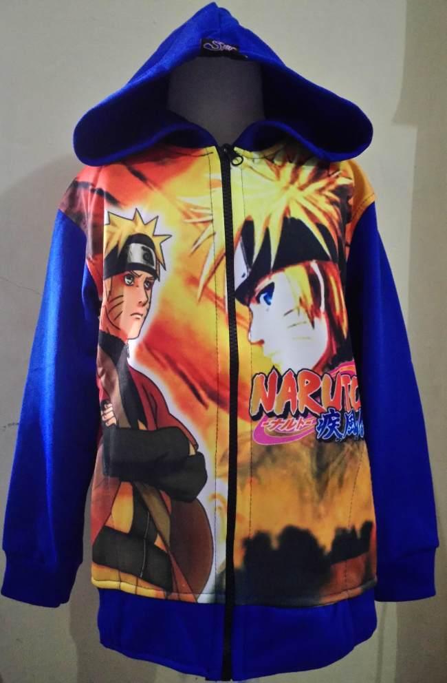 JKKDL38 - Jaket Anak Naruto Blue