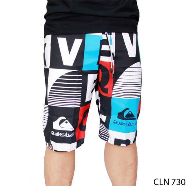 celana pantai pria polyester multi colour cln 730