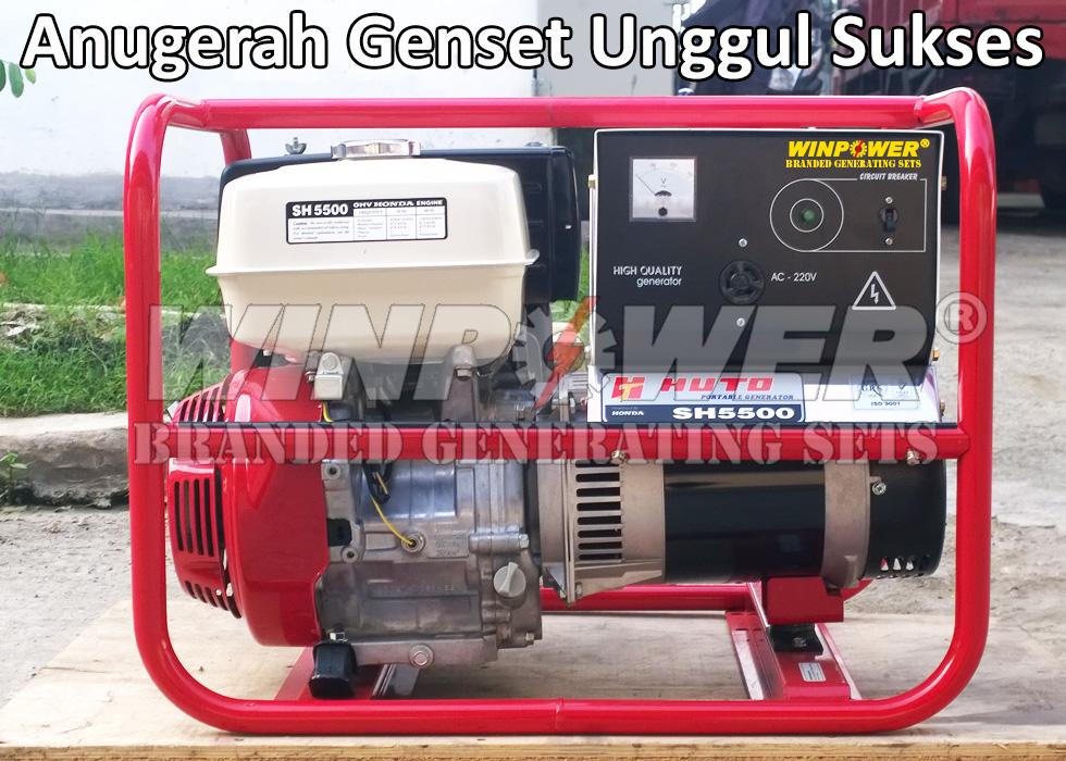 harga Genset Honda - Mecc Alte 4 KVA Open Type (SH5500WP) Tokopedia.com