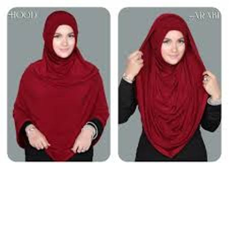 Hijab | Jilbab | Kerudung syar'i LONG HOODIE ARABIAN PREMIUM