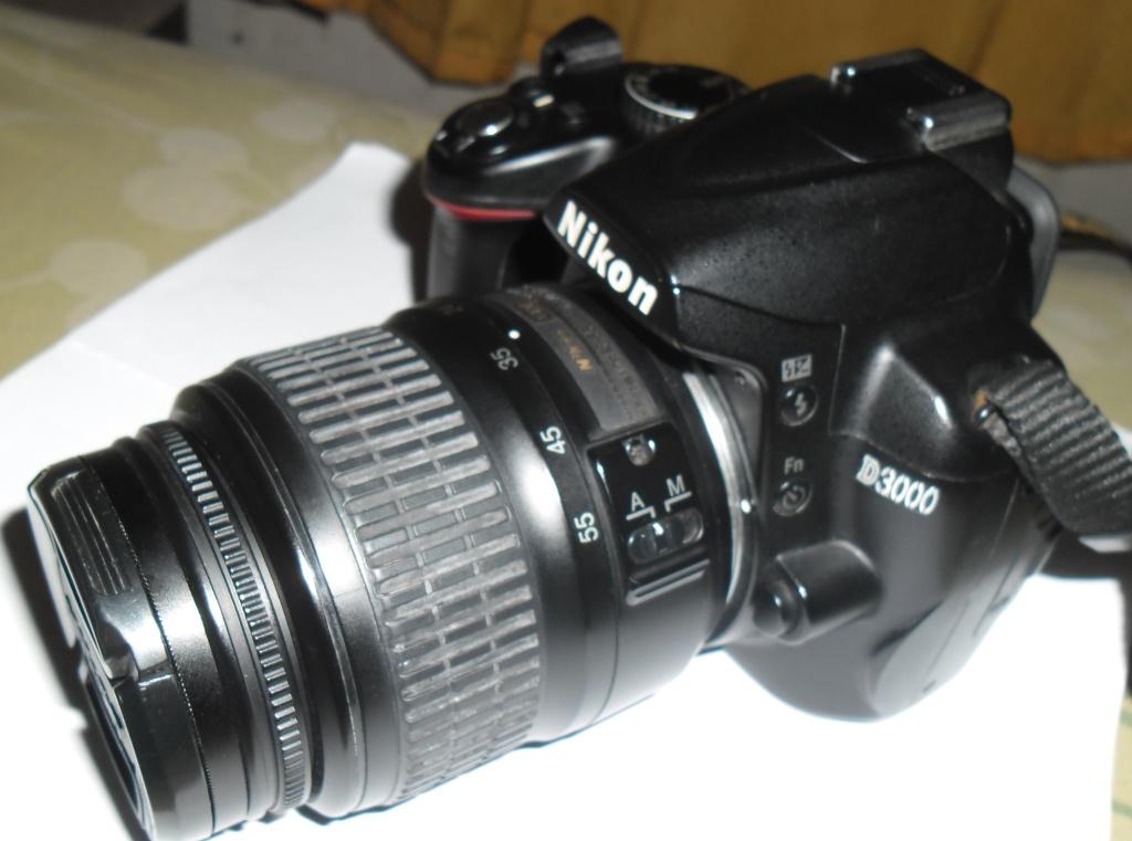 harga DSLR NIKON D3000 plus Kit 18-55 DX Tokopedia.com