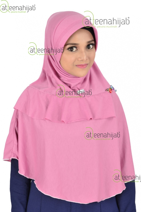 Atteenahijab jilbab instan kaos kerudung hijab syar'i bergo Aulia fari