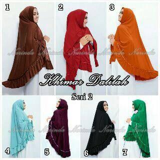 hijab jilbab kerudung KHIMAR DALILAH