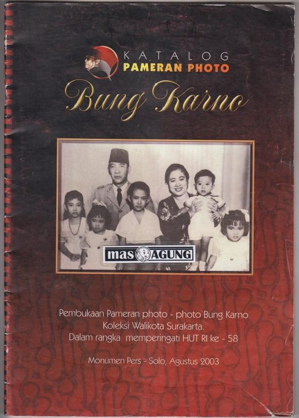 harga Katalog Pameran Photo Bung Karno (Jarang Ada) Tokopedia.com