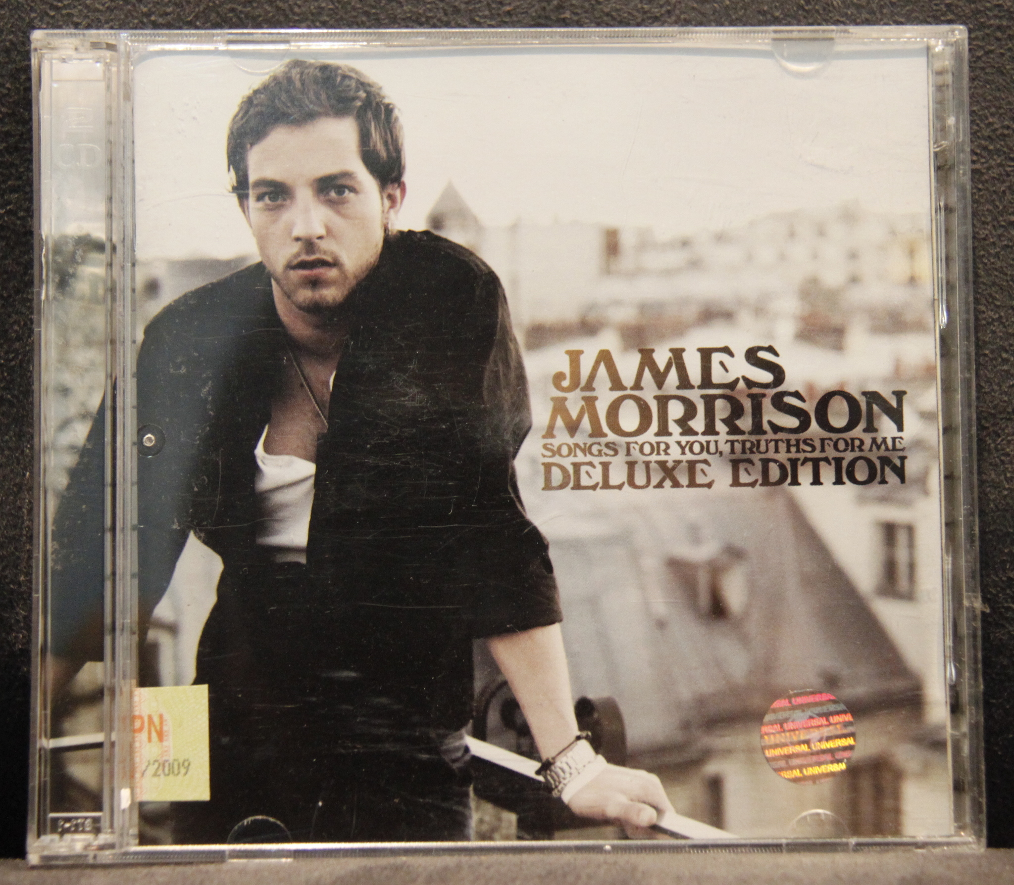 harga CD Album James Morrison - Songs For You, Truths For Me (2 CD) Tokopedia.com
