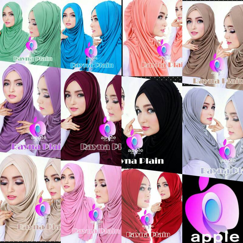 jilbab syria rayna candy series by apple hijab