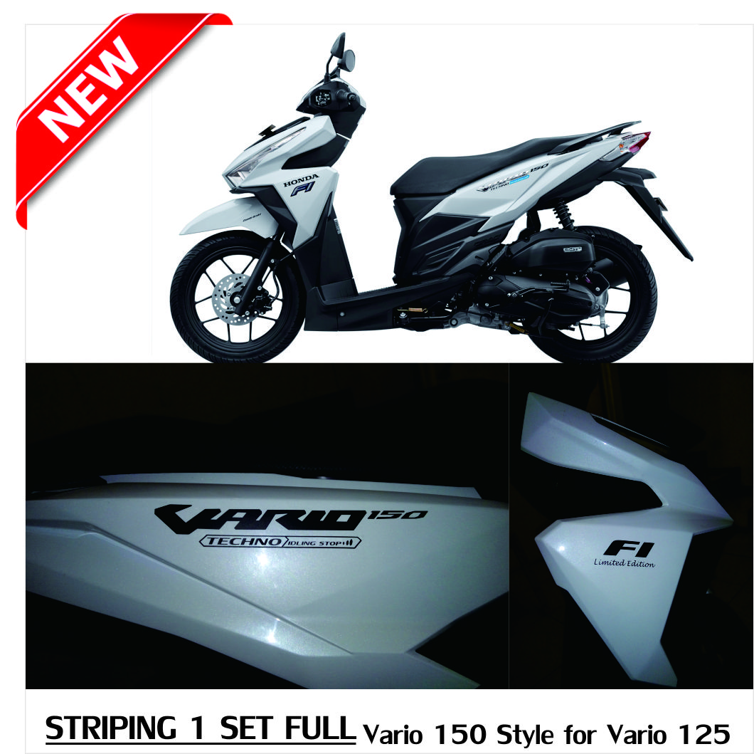 Jual Striping Sticker Stiker Motor Honda Vario 150 Style For