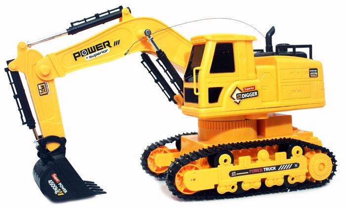 R/C Excavator Heavy Machine (Versi Kecil)