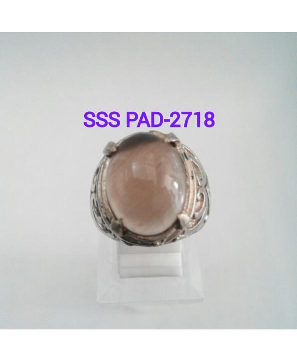 harga CINCIN BATU AKIK SOLOK SOLAR PADANG / SMOKY QUARTZ-SSSPAD-2718 Tokopedia.com