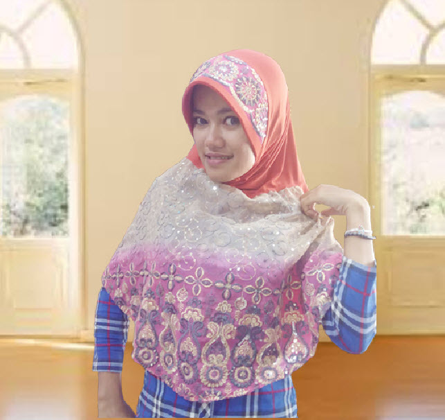 Kerudung | Hijab | Bergo | Jilbab Instand | Jilbab Modern Bordir