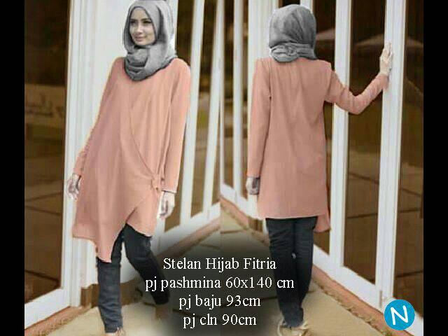 6091 stelan hijab fitria